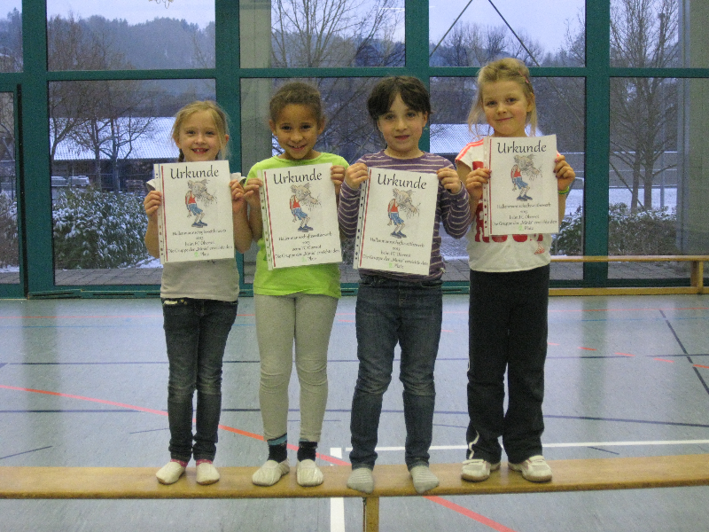 2. Platz  OBERROTER  POWER KIDS    MINIS